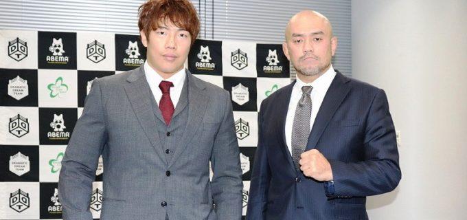 【DDT】12・27後楽園で「D王 GP」優勝を懸けて闘う竹下幸之介と秋山準が火花散らす!
