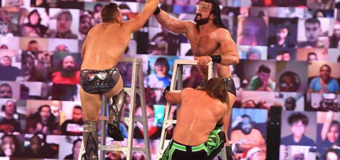 【WWE】マッキンタイアがAJスタイルズ、Mr. MITBのミズを退けてTLC戦で王座防衛