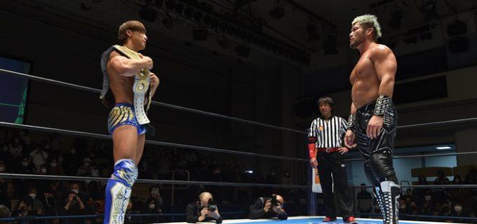 【新日本】IWGP二冠&NEVER前哨戦は内藤&鷹木&SANADAのL・I・Jが勝利!<1.17後楽園大会>