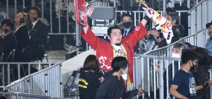 【新日本】「KOPW 2021」進出者争奪ニュージャパンランボーを最終入場者の矢野通ら4名が勝ち残り!チェーズ・オーエンズは第1入場者で残り。ファレ、BUSHIも明日タイトル狙う!1.4 WK15 in 東京ドーム