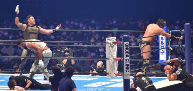 【新日本】 IWGPタッグ選手権の勝者はGoD!WRESTLE KINGDOM 15 in 東京ドーム<1・4速報>