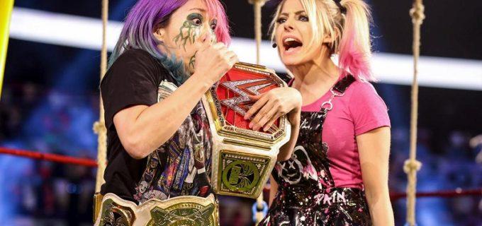 """【WWE】""""黒い小悪魔""""アレクサがロウ女子王者アスカをシスター・アビゲイル葬"""
