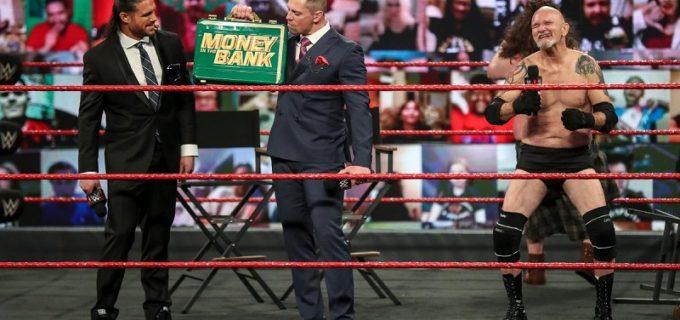 "【WWE】""Mr. MITB""ミズがWWE王座戦でのキャッシュインを宣言"