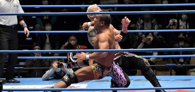 【全日本】ゼウスと田中のシングル肉弾戦はスライディングDで田中が激勝!
