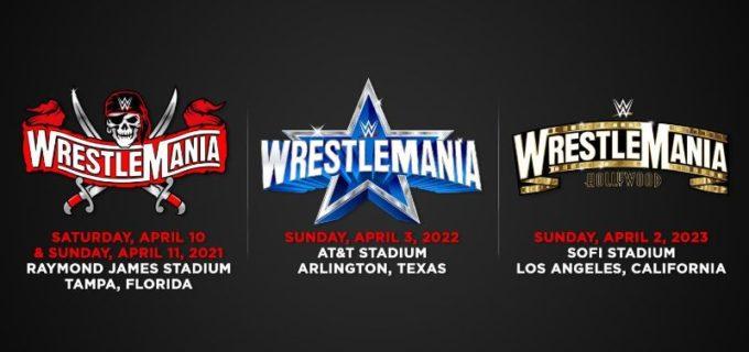 【WWE】「レッスルマニア」の向こう3年の開催地が決定