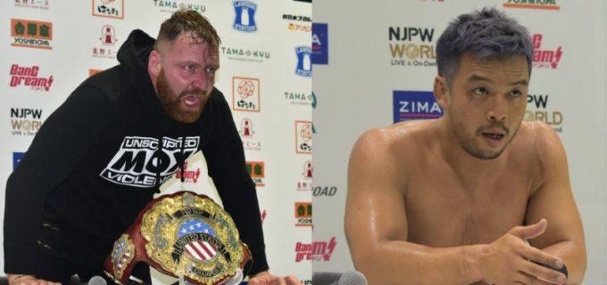 【新日本】NJPW STRONGにジョン・モクスリーが登場!KENTAにデスライダーをお見舞いし「オマエのUSヘビー級チャンピオンになるという夢は悪夢になるだけだ」1.30 NJPW STRONGエピソード25