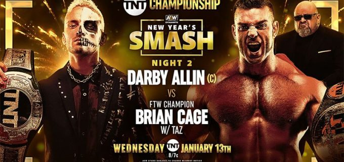 【AEW】1.13 AEWダイナマイト『NEW YEAR'S SMASH-NIGHT2』TNT王者ダービー・アリンのピンチをスティングが救う!ケニーとアンダーソン&ギャローズが6人タッグで躍動