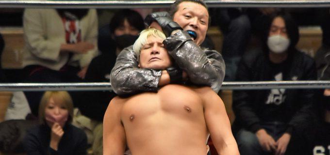 【ノア】村上和成が拳王を絞め落とし勝利!1.23大阪でのナショナル王座挑戦決定!