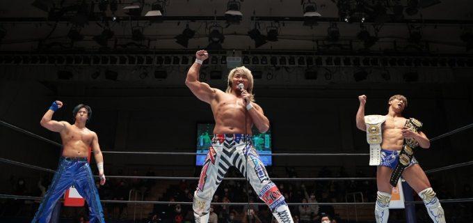 【新日本】前哨戦に勝利の棚橋「チャンピオン姿、楽しみにしていてください」NEVER奪取を約束!
