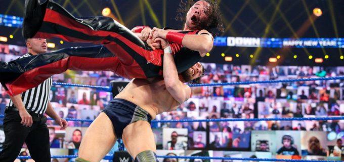 【WWE】中邑がロイヤルランブル優勝を目指すブライアンとのタッグ戦で屈辱のタップ負け