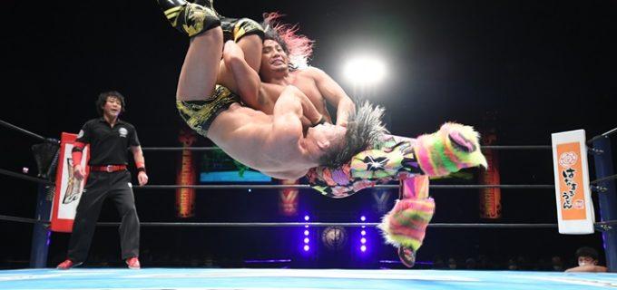 【新日本】IWGPジュニアは死闘の末、ヒロムがSHOを撃破!試合後、ファンタズモが次期挑戦をアピール!!