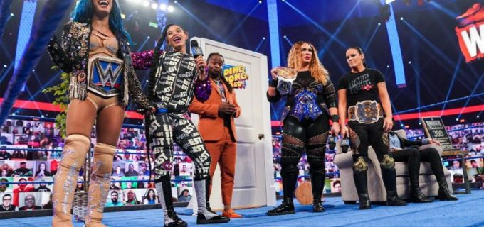 【WWE】サーシャ&ビアンカ対シェイナ&ナイアのWWE女子タッグ王座戦が決定