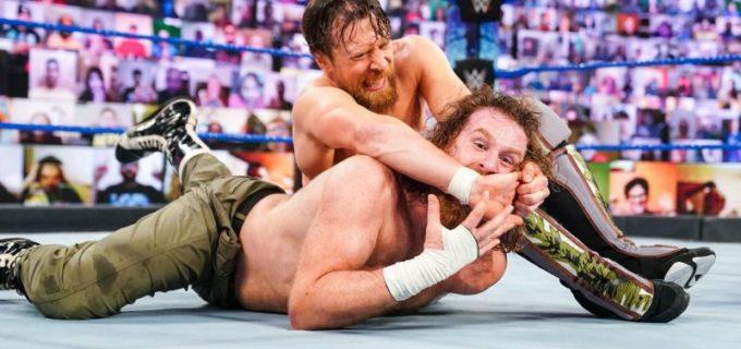 【WWE】王者レインズが「お前が選ぶのは俺1人だ」とRR覇者エッジをスピアー葬
