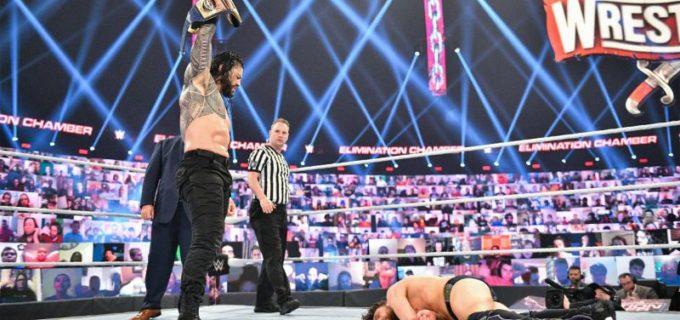 【WWE】王者レインズ対RR戦覇者エッジのユニバーサル王座戦がPPV「レッスルマニア37」で決定