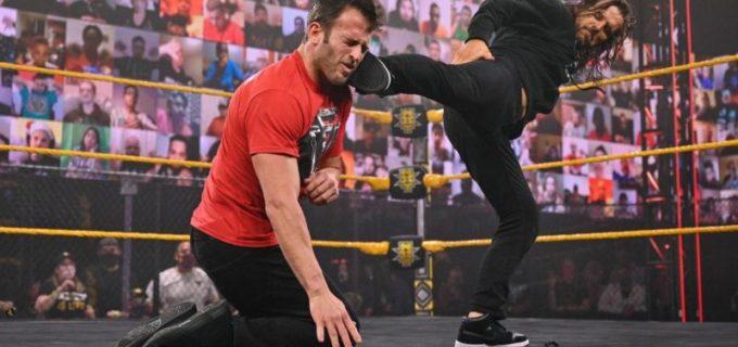 【WWE】アダム・コールがオライリーに続き盟友ストロングを裏切りのスーパーキック葬
