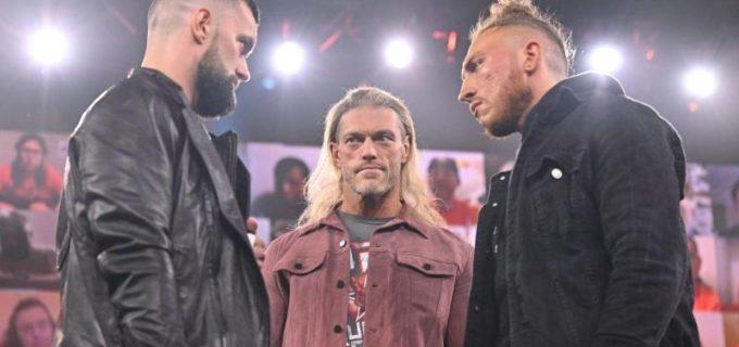 【WWE】RR優勝者エッジが王座戦決定のベイラーとダンの前でNXT王座挑戦の可能性を示唆