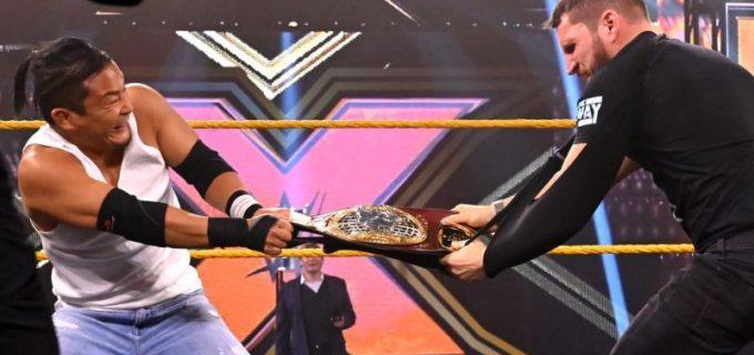 【WWE】KUSHIDAが王座戦回避を企んだ王者ガルガノを制裁「俺たちの次のアポイントメントはリングの上だ」