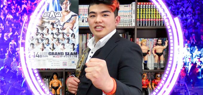 【プロレスラー選手名鑑】花見達也 Tatsuya Hanami(2AW)