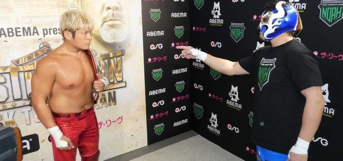 【ノア】カシン「俺がプロレス界に入ったのはそのベルトを獲るためだ」拳王のナショナル王座に挑戦表明!2.12日本武道館
