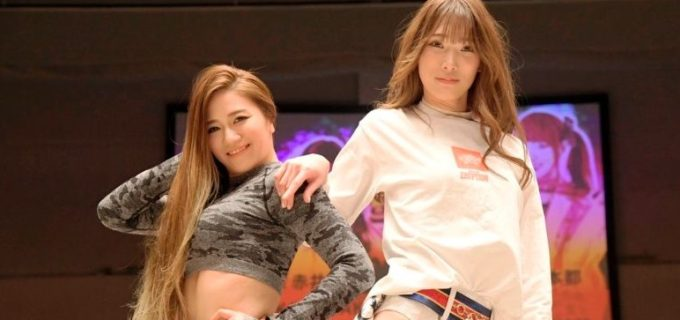 【DDT】赤井沙希と雪妃真矢が2.14カルッツかわさきでの初タッグに向け、Instagramでコラボ配信!