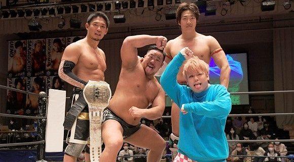 【DDT】3・14後楽園でKO-D6人タッグ王座挑戦の「ダムネーション」が勝利、敗れたオールアウトは発展的に解散へ!