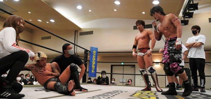 【DDT】DDTサウナ部が1・28新宿の借りを返し、KO-Dタッグ王座前哨戦に激勝!王者の樋口和貞&坂口征夫もいよいよ火がついた