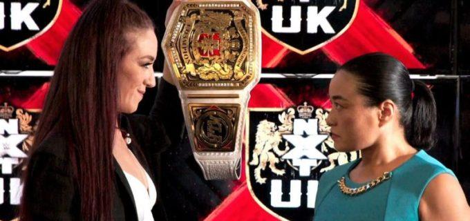 """【WWE】""""女子レジェンド""""里村明衣子と王者ケイ・リー・レイのNXT UK女子王座戦が決定"""