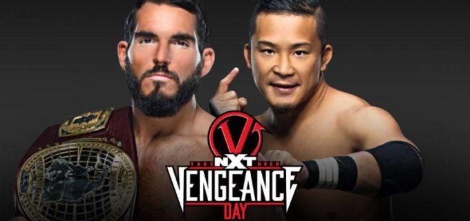 【WWE】KUSHIDAとガルガノのNXT北米王座戦が「NXTテイクオーバー:ベンジェンス・デイ」で決定