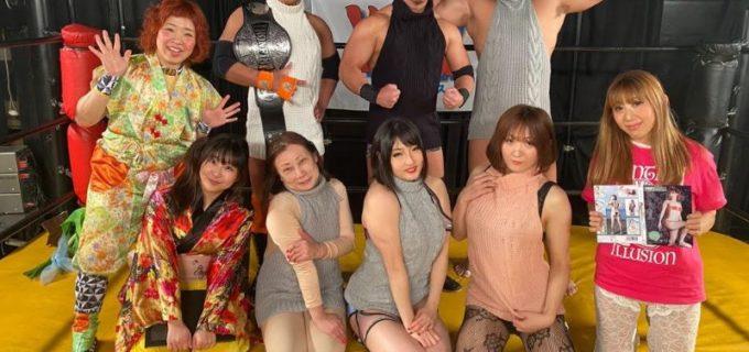 【YMZ】2.11「ちょっと早めのバレンタインデー」リング上の全員が童貞を◯すセーターを着用!松澤さんは試練の108番勝負で野球拳