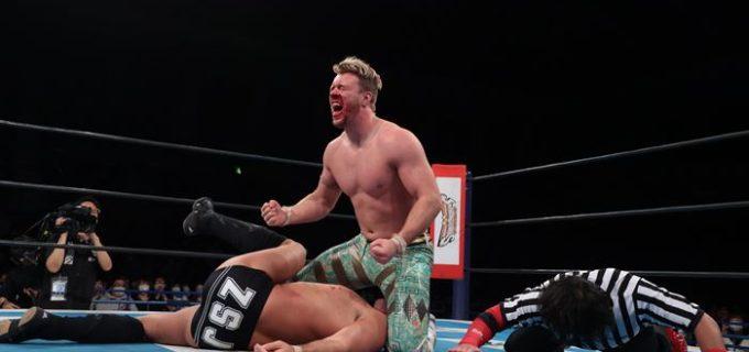 【新日本】『NJC』オスプレイがザックとの英国人対決を制す!永田が奮闘するもSANADAに敗退<3.14尼崎・全試合結果>