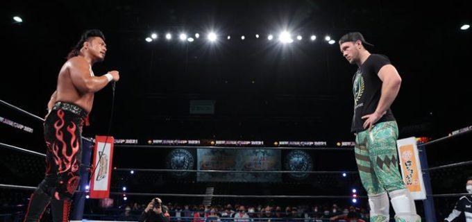 【新日本】『NJC』鷹木が無法殺法のEVILから勝利、フィンレーを撃破したオスプレイと決勝で激突!!<3.20仙台・全試合結果>