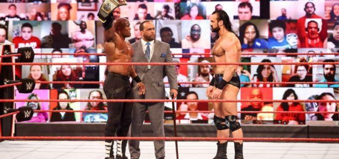 【WWE】王者ラシュリーとマッキンタイアが祭典レッスルマニアを前に一触即発