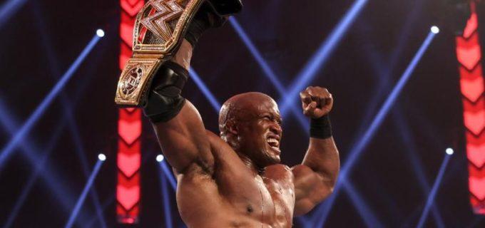 【WWE】王者ラシュリーが前王者ミズをハートロックで返り討ちにして王座防衛
