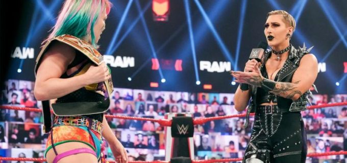 "【WWE】""女帝""アスカ対リア・リプリーのロウ女子王座戦がPPV「レッスルマニア37」で決定"