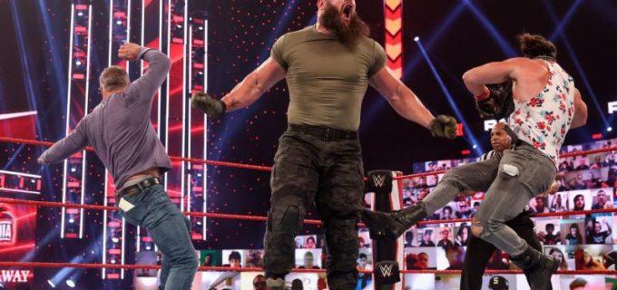 """【WWE】""""巨獣""""ストローマンが因縁のシェインにスチールケージ戦を宣告"""