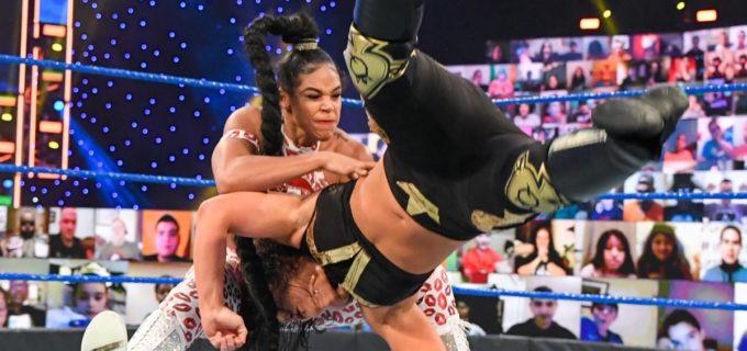 """【WWE】""""EST""""ビアンカ・ブレアがKODでシェイナ・ベイズラーとの前哨戦に勝利"""