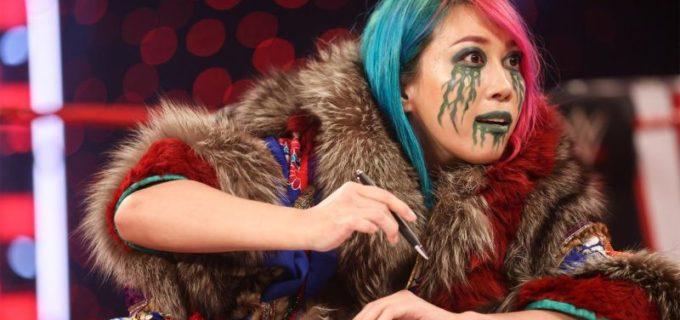 "【WWE】""女帝""アスカが調印式でリアに襲撃KOされて醜態"