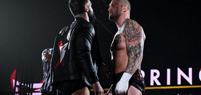 【WWE】フィン・ベイラー対カリオン・クロスのNXT王座戦が「NXTテイクオーバー:スタンド&デリバー」で決定