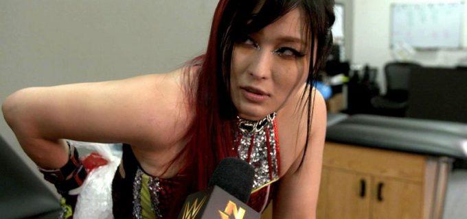【WWE】紫雷イオが次期挑戦者ラケルとの前哨タッグ戦で屈辱の敗戦