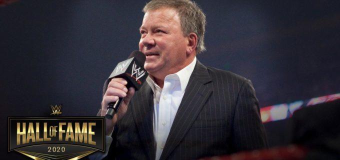 【WWE】ウィリアム・シャトナーの2020年WWE殿堂入りを発表