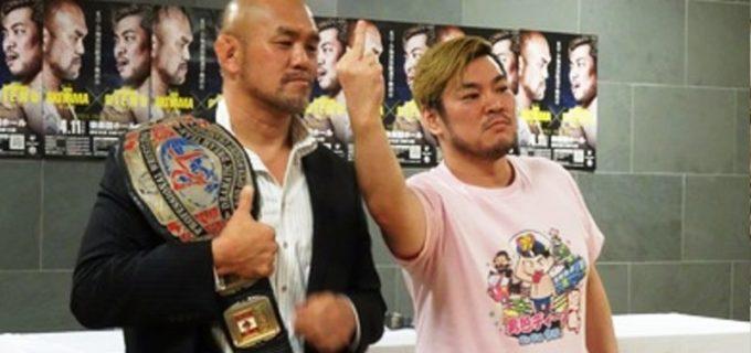 【DDT】KO-D王者・秋山準4・11後楽園で挑戦受けるディーノに忠告「中指立てられないようポキッとしちゃわないと」