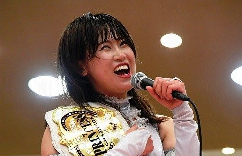【東京女子】プリプリ王者・辰巳リカが4・17後楽園での伊藤麻希とのV2戦に向けベルト死守を宣言!