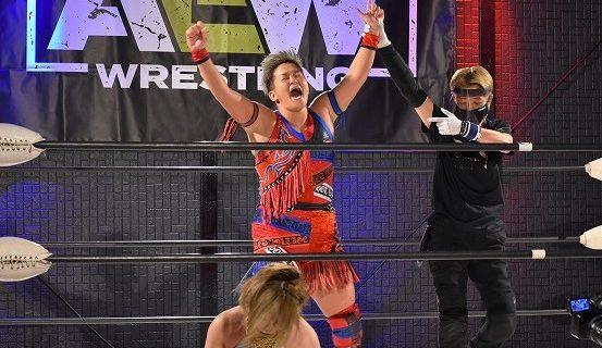 【AEW】水波綾が坂崎ユカとの激戦を制して、AEW女子世界王座次期挑戦者決定トーナメントside Japan優勝!