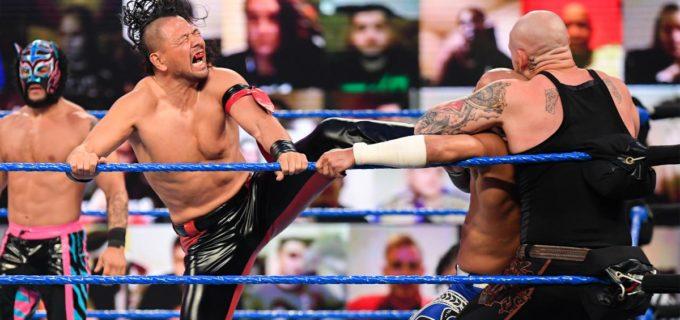 【WWE】中邑真輔がアンドレ杯バトルロイヤルでジェイ・ウーソに逆転負け