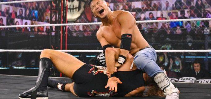 【WWE】KUSHIDAが強豪ピート・ダンと激闘の末、無念の3カウント