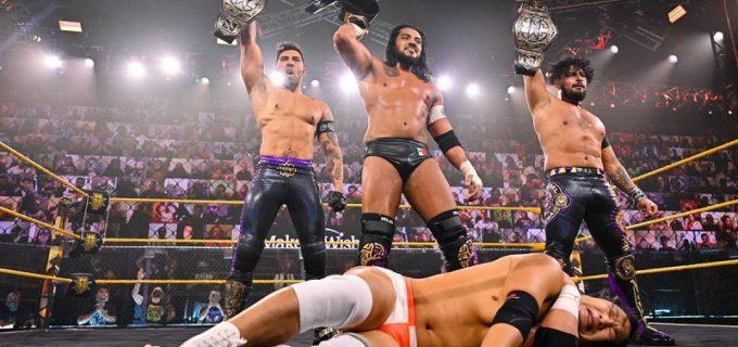 【WWE】KUSHIDA&MSKが因縁のエスコバー率いるレガード・デル・ファンタズマに無念の敗戦