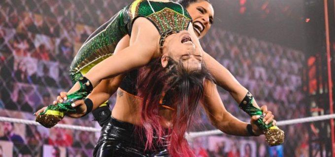 【WWE】紫雷イオが「NXTテイクオーバー」でまさかの王座陥落 新王者はラケル・ゴンザレス