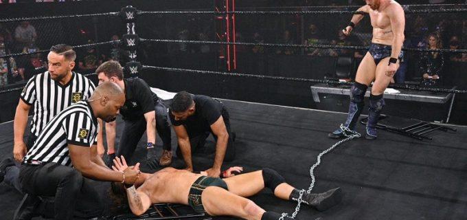 【WWE】カイル・オライリーが仲間割れしたアダム・コールとの遺恨戦を制す