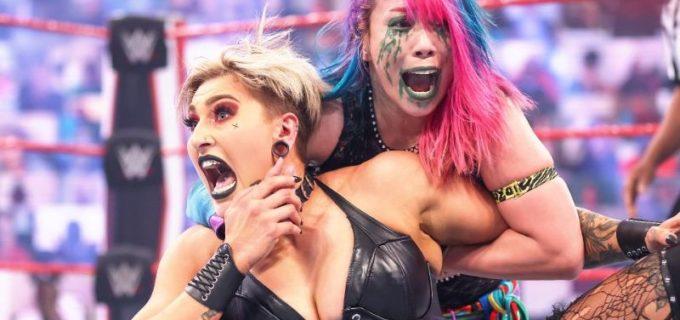 "【WWE】""女帝""アスカと王者リアが再び王座戦も片恨みの""女王""シャーロットが襲撃"
