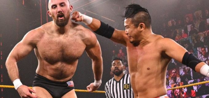 【WWE】KUSHIDAが王座初防衛に成功も前王者サントス・エスコバーとの遺恨再燃